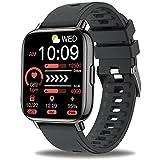 Sudugo Smartwatch, 1,69' Táctil Reloj Inteligente Hombre Mujer, Reloj Deportivo con 24 Modos Deportivos, Pulsómetro, Monitor de Sueño, Podómetro, Pulsera Actividad Impermeable IP67 para iOS Android