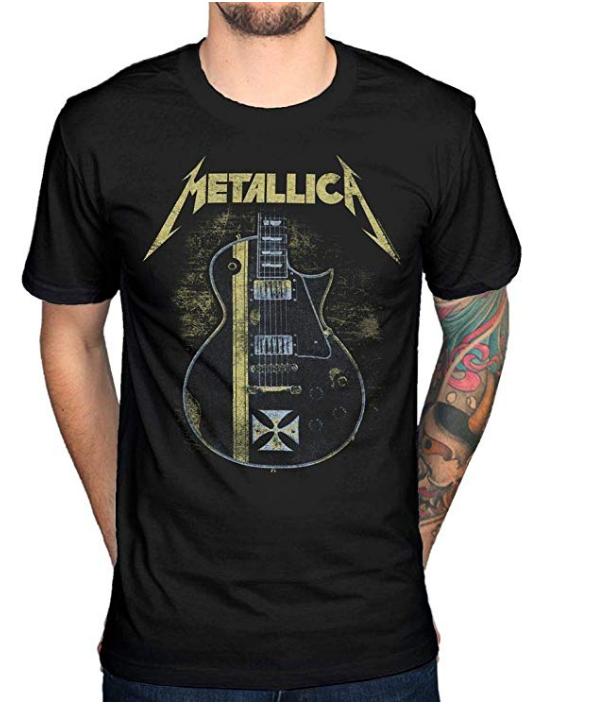Camiseta vintage para hombre de Metallica