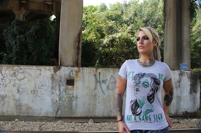 Camisetas estampadas para mujer vintage