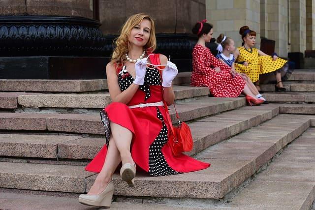 Vestidos vintage para mujer